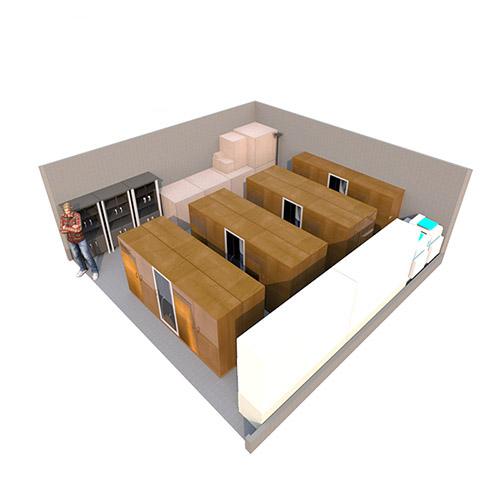 large self storage unit